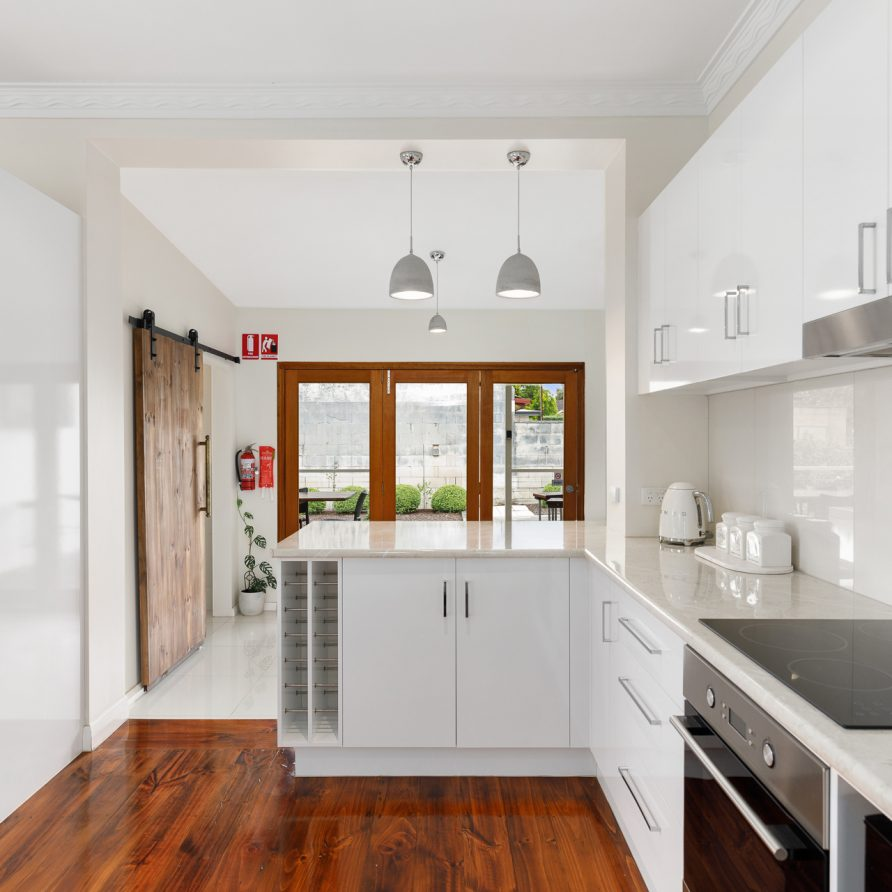 Beautiful kitchen facilities at Aquifer Blue